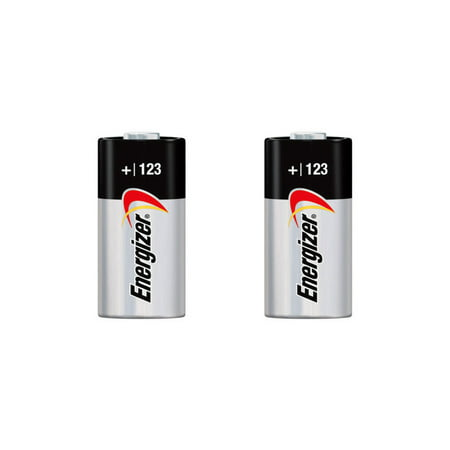2x Energizer CR123A 123A DL123A Photo Lithium Battery 3V 1500mAh FAST USA