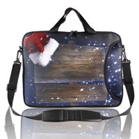 """15"""" 15.4"""" Retro Style Christmas Gift Handle Shoulder Laptop Sleeve Bag Pouch"""