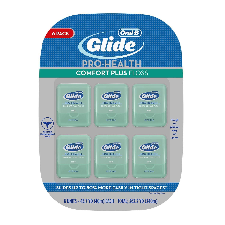 Oral-B® Glide® Pro-Health™ Comfort Plus Floss 6-43.7 yd. Packs