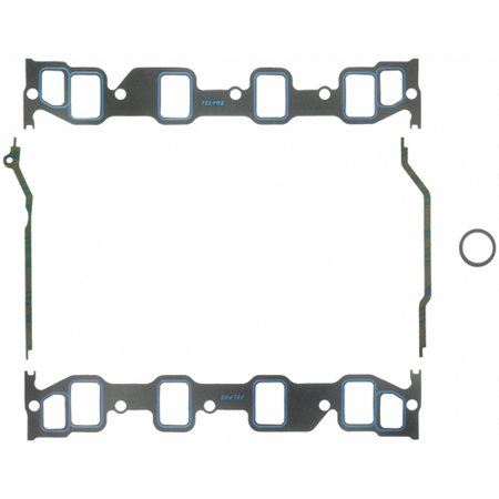 Fel Pro HP 1247 Intake Manifold Gasket  Ford FE Big Block; 1.40 Inch X 2.10 Inch Port Size; Printoseal; 0.060 Inch Thick - image 1 de 2