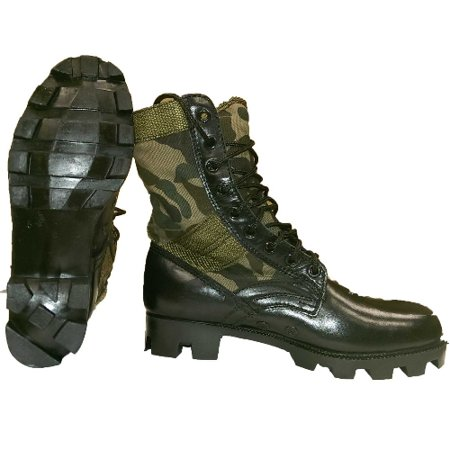 Boot, GI Style Jungle, Woodland Camo, Size 12R - Gi Style Jungle