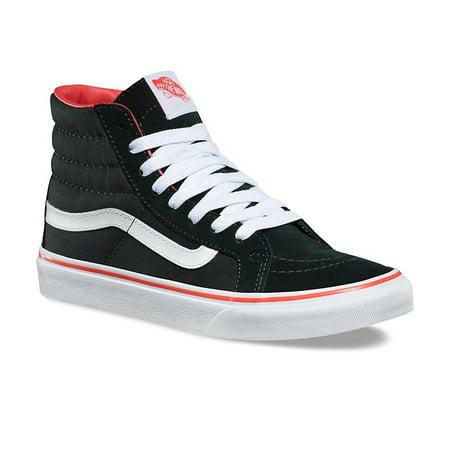 e02a86f00a Vans - Vans SK8 Hi Slim Pirate Black True White Women s Classic Skate Shoes  Size 8.5 - Walmart.com