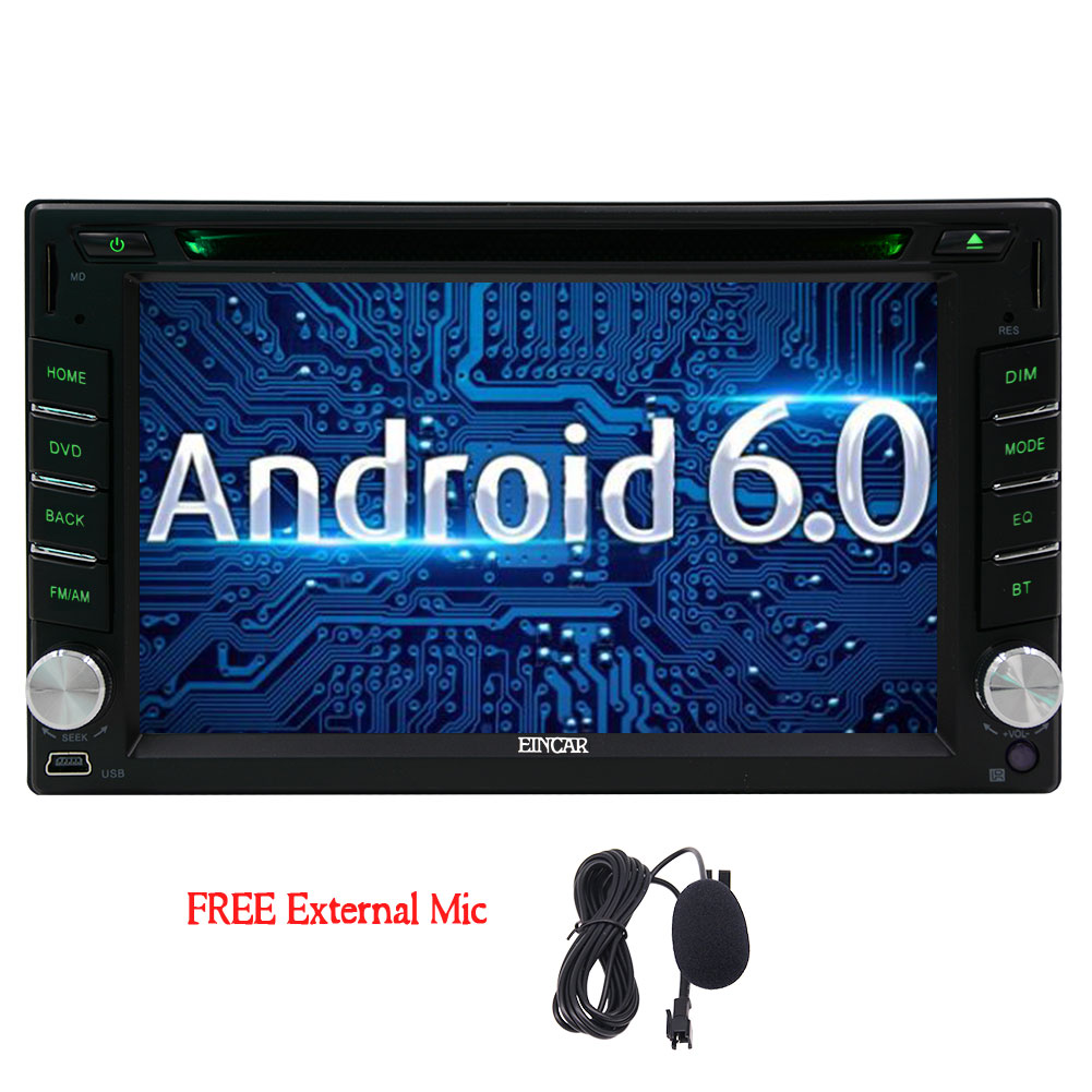 Android 6.0 Car Stereo, Bluetooth for Hands Free Calling,...