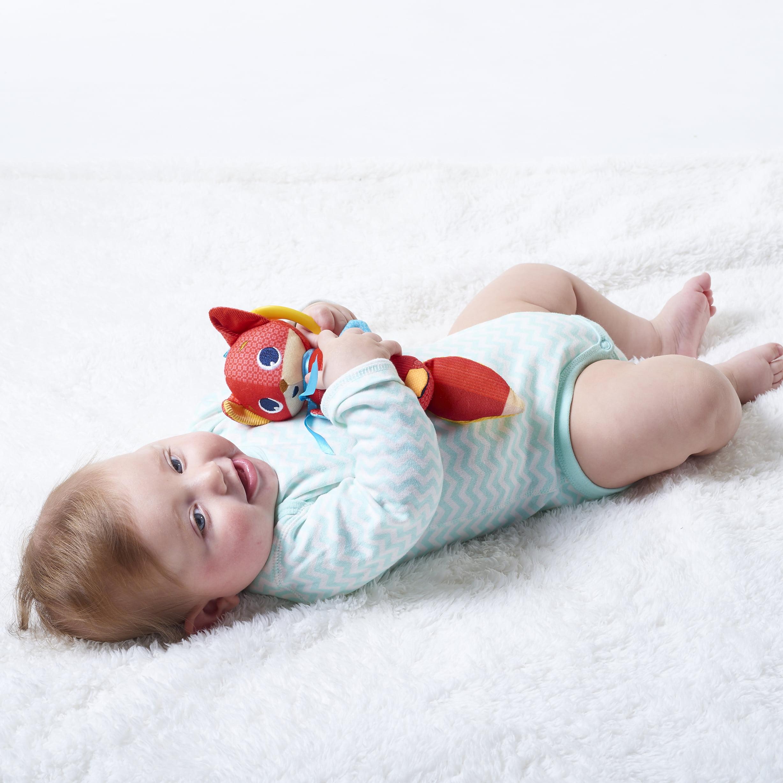 Rabbit Jitter Teether Toy Meadow Days Infant Developmental Baby Rattle Newborn