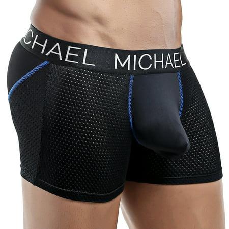 Michael MLG005 Boxer Trunk Black