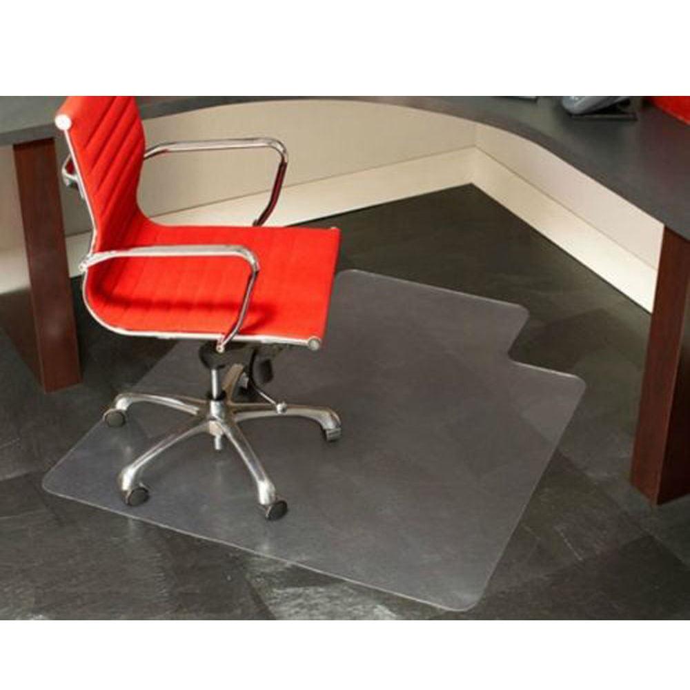 Zimtown Pvc Matte Desk Office Chair Floor Mat Protector