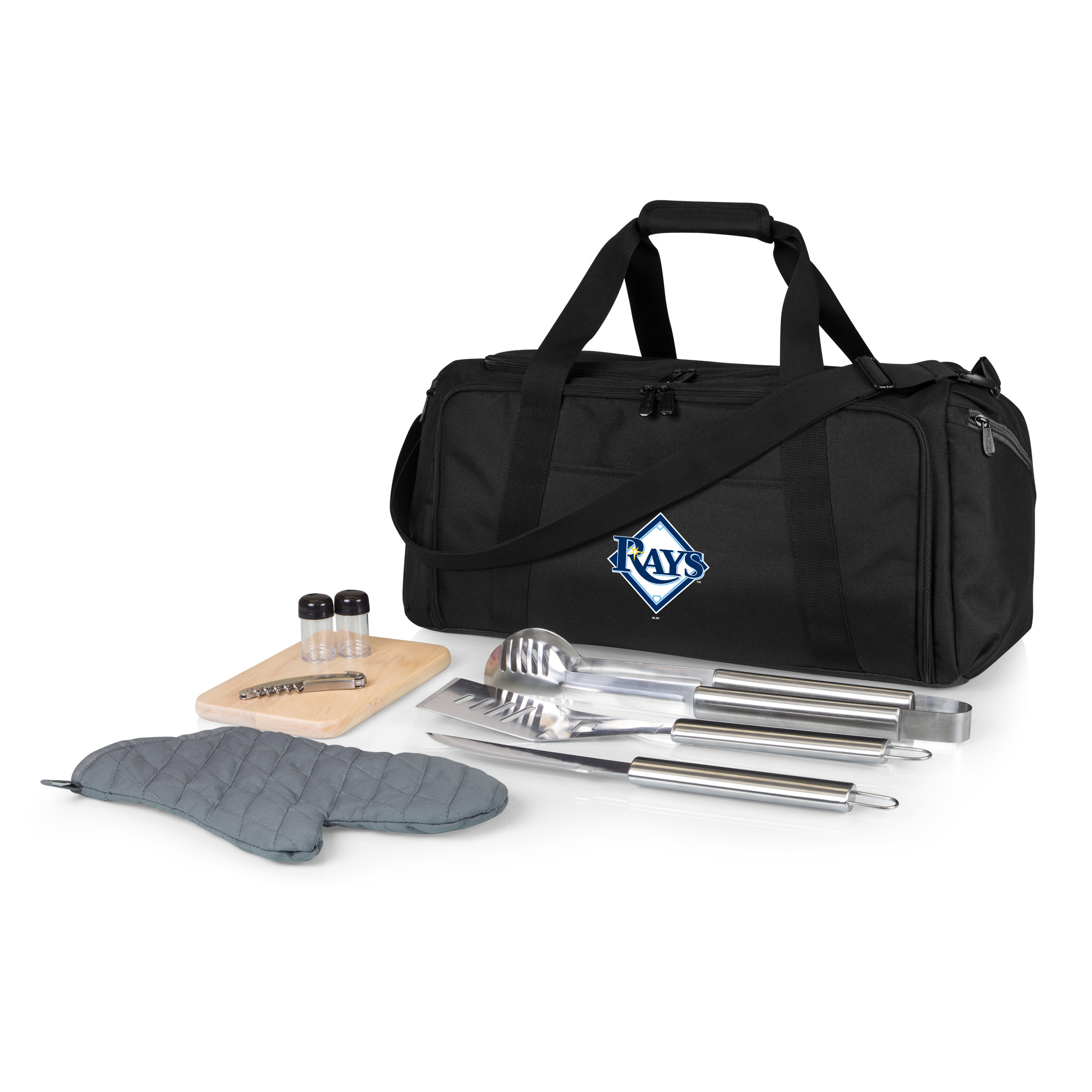Tampa Bay Rays BBQ Kit Cooler - Black - No Size
