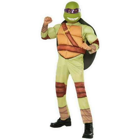 Teenage Mutant Ninja Turtles Deluxe Donatello Costume](Adult Ninja Turtle Costume)
