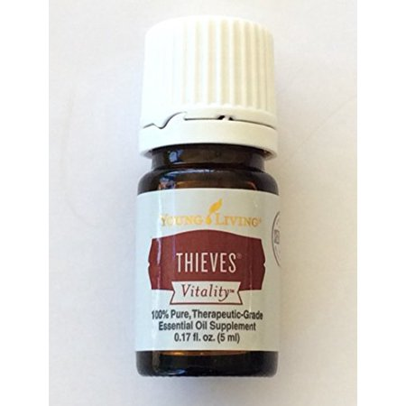 Vitality Thieves Young Living Essential Oils, 0.17 Fl (Young Living Essential Oils For Tooth Infection)