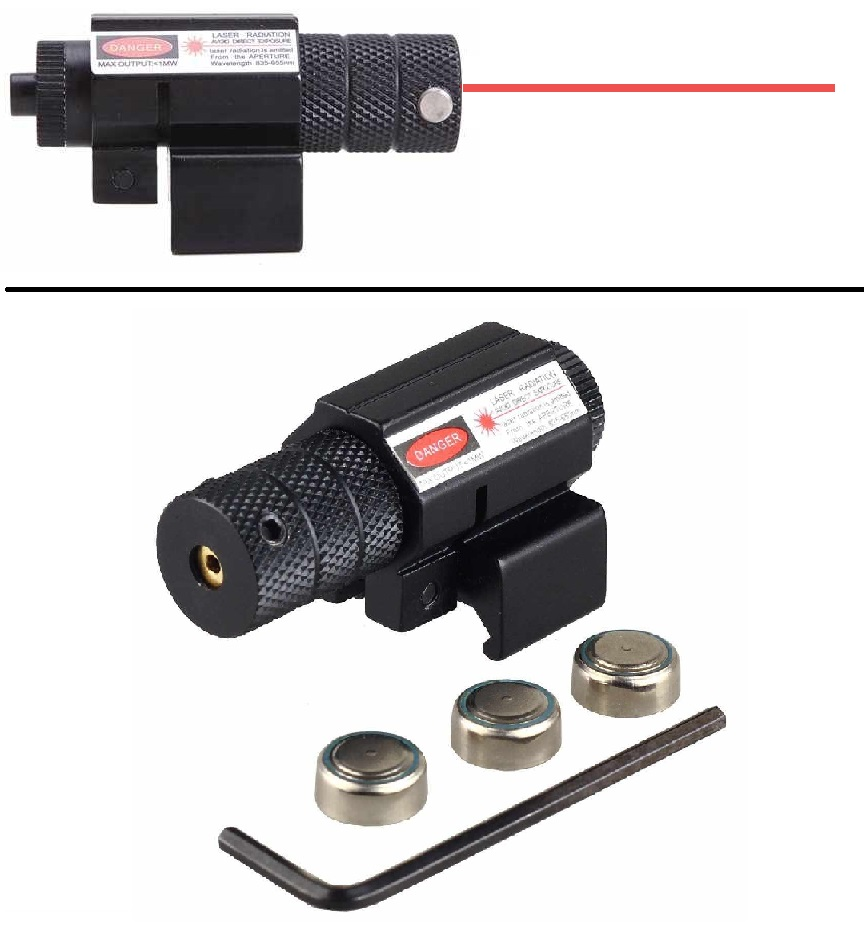 Ultimate Arms Gear Tactical Red Dot Laser Sight Picatinny Rail Mount For Mossberg 500 535 590 835 Maverick 88 12 & 20 GA... by
