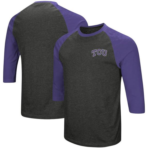 Colosseum TCU Horned Frogs Mens Purple Friend Polo Shirt