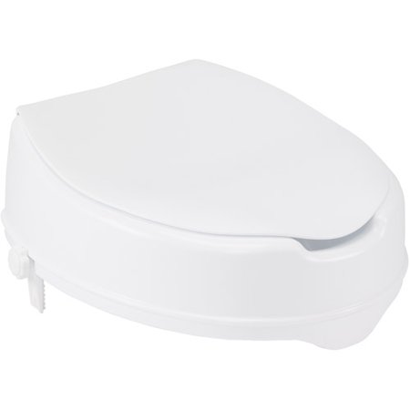 Drive Medical Raised Toilet Seat With Lock And Lid 4