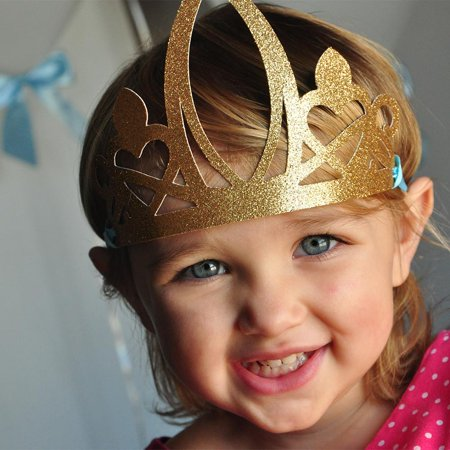 Princess Crowns for Cinderella Party Favors. Ships in 1-3 Business Days. Party Crown. - Crown Confetti