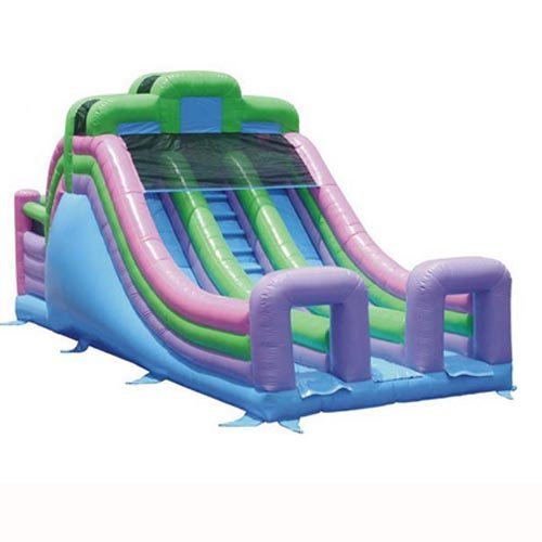 Kidwise Commercial 33 ft. Double Lane Inflatable Slide