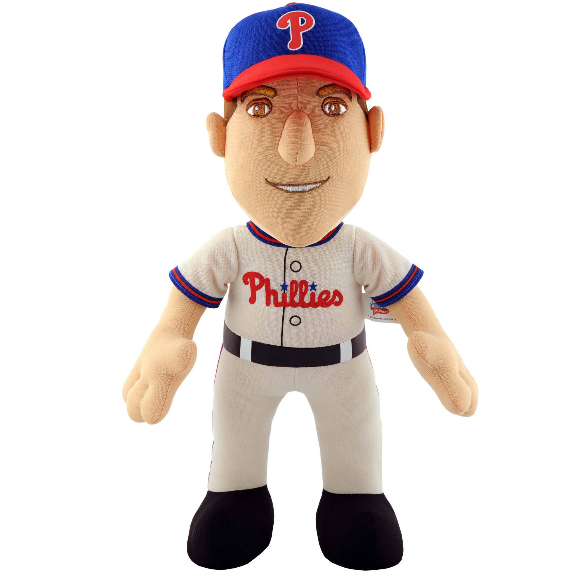 "Bleacher Creatures MLB 14"" Plush Doll, Roy Halladay, Philadelphia Phillies"