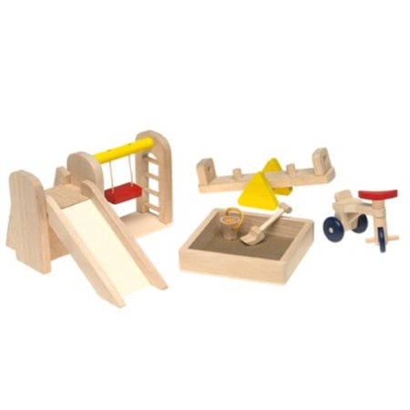 Ryans Room Small World Toys Wooden Doll House ()