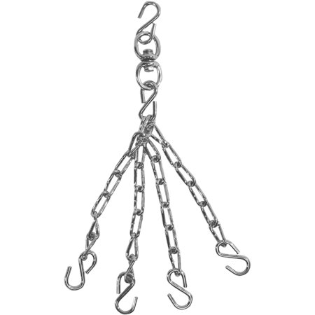 Title Boxing Classic Heavy Bag Mounting Chain and Swivel - Up to 80 - Blow Up Boxing