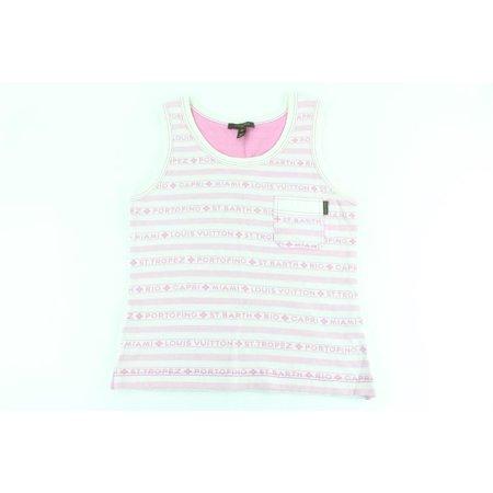 Louis Vuitton Cruise Logo Island Tank Top Shirt 21LZ1106 (Sonnenbrille Louis Vuittons)