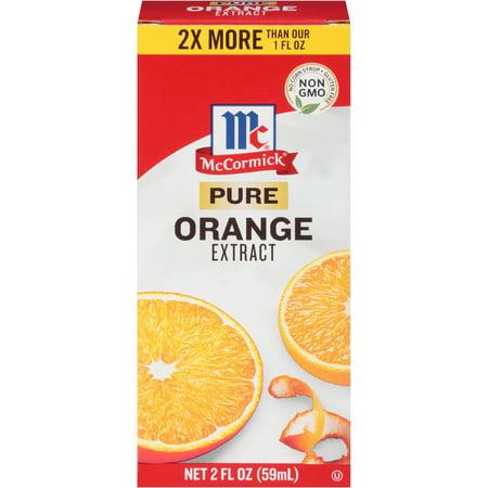 (3 Pack) McCormick Pure Orange Extract, 2 fl oz