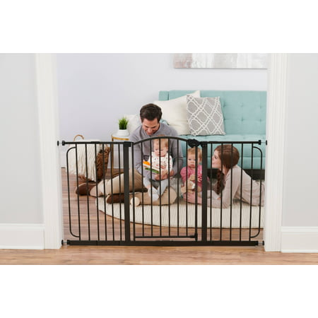 111 Gate (Regalo Extra Wide Arched Décor Baby Safety Gate)