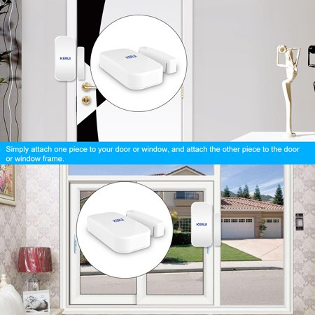 KERUI D025 433MHz Wireless Window Door Magnet Sensor Alarm Detector For Home Burglar Alarm System - image 7 of 7