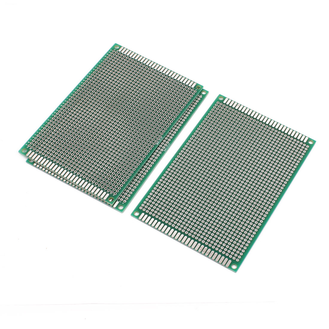 3 Pcs Double Sided Prototype Universal Pcb Print Circuit Board 8cm X Doublesided Printed Boards 12cm Green