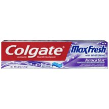 Toothpaste: Colgate Max Fresh Knockout