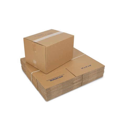 Large Recycled Shipping Boxes 15L x 12W x 10H (25 Count)