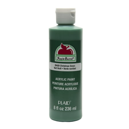 Apple Barrel Christmas Green Acrylic Paint, 8 Fl. Oz. ()