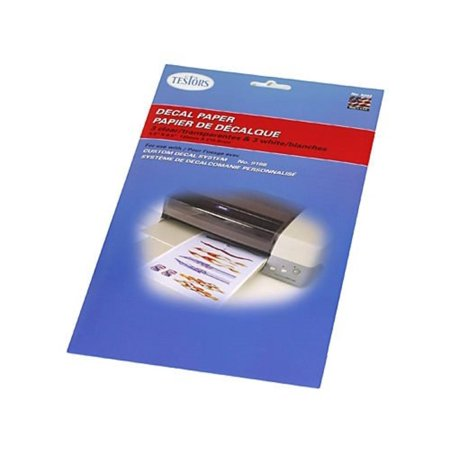 White and Clear Decal Paper by Testors, Modeling Supplies By Testors Paints and Supplies