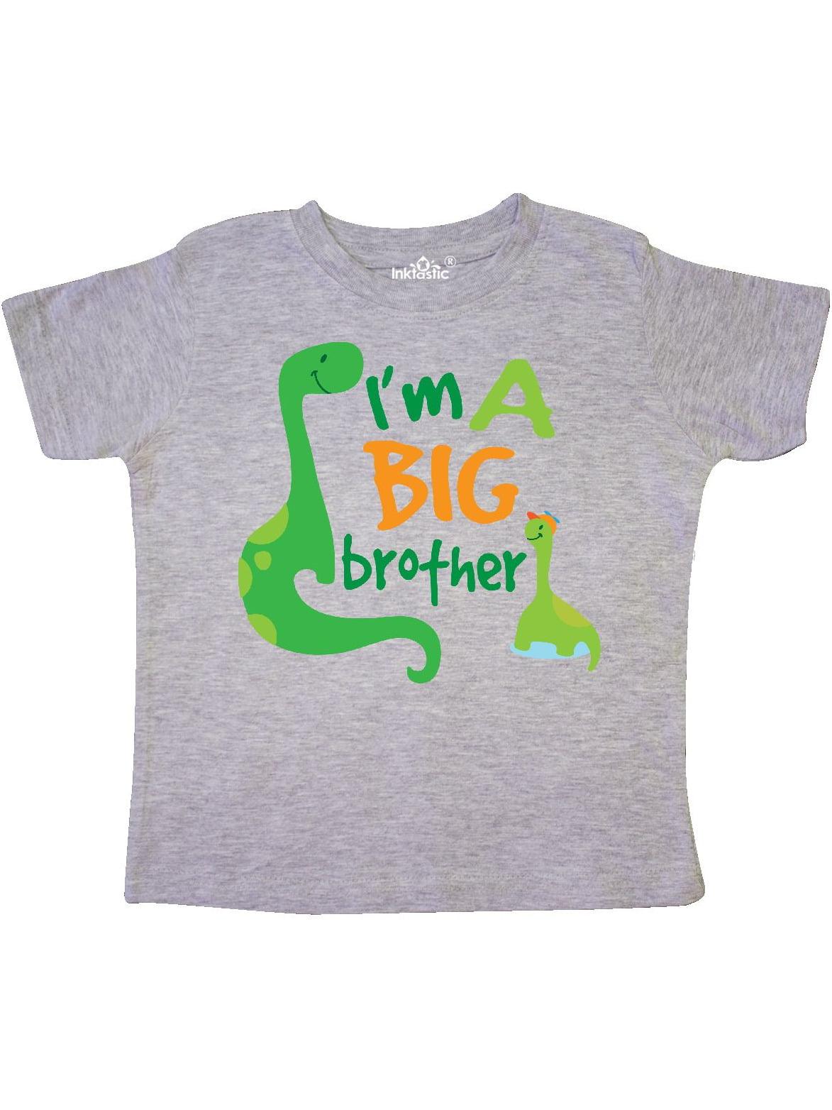I'm A Big Bro Dinosaur Boys Brother Announcement Toddler T-Shirt