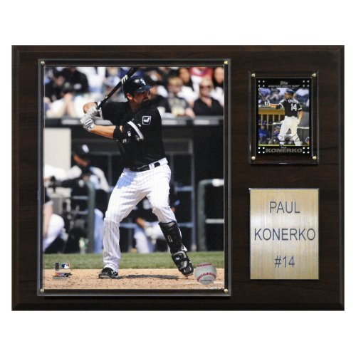 MLB 12 x 15 in. Paul Konerko Chicago White Sox Player Plaque