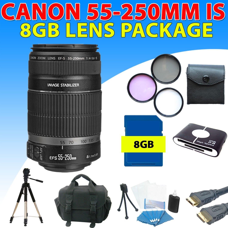 Zeemo Canon Ef-s 55-250mm 55-250 F/4-5.6 Is Autofocus Len...