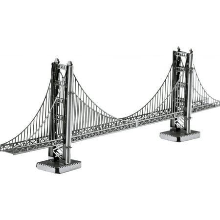 Metal Earth 3D Laser Cut Model, Golden Gate - Animated 3d Models