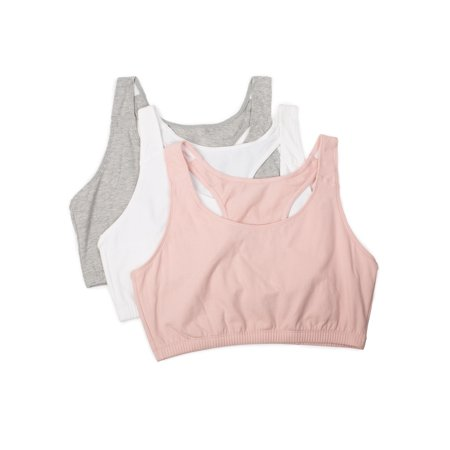 e592a34a11 Fruit of the Loom - Fruit of the Loom Women s Tank Style Sports Bra 3-Pack
