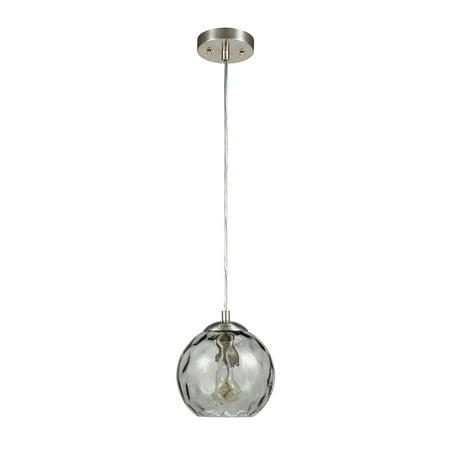 Better Homes & Gardens Smoked Gray Glass Pendant Light Bicone Pendant Light