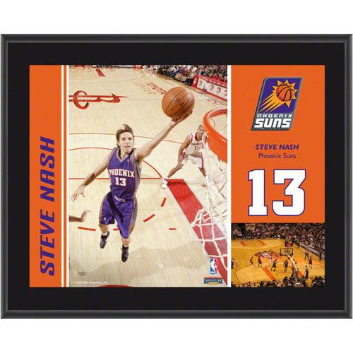 NBA - Steve Nash Plaque | Details: Phoenix Suns, Sublimated, 10x13, NBA Plaque