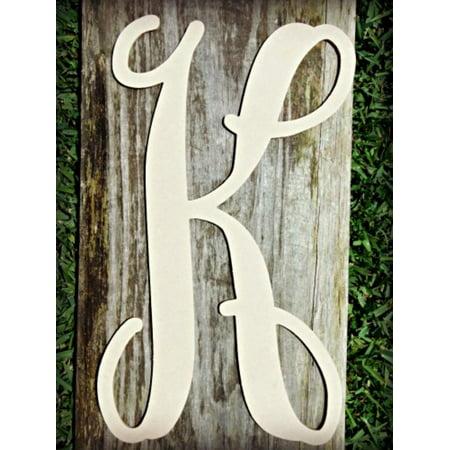 Lowercase Vine Letter (K) 12