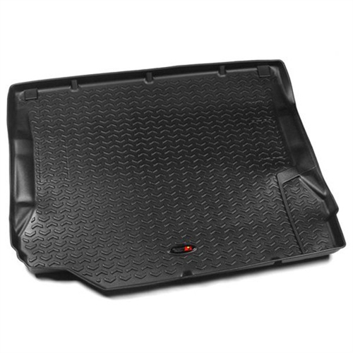 Rugged Ridge All Terrain Cargo Liner Black Fits 2007 to 2010 JK Wrangler, Rubicon and Unlimited 12975.01