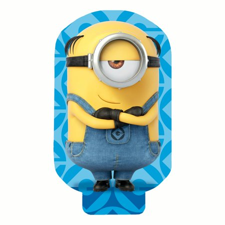 Universal Despicable Me Kids' Minion Shaped Beach Towel, 1 Each - Inflatable Minion Despicable Me