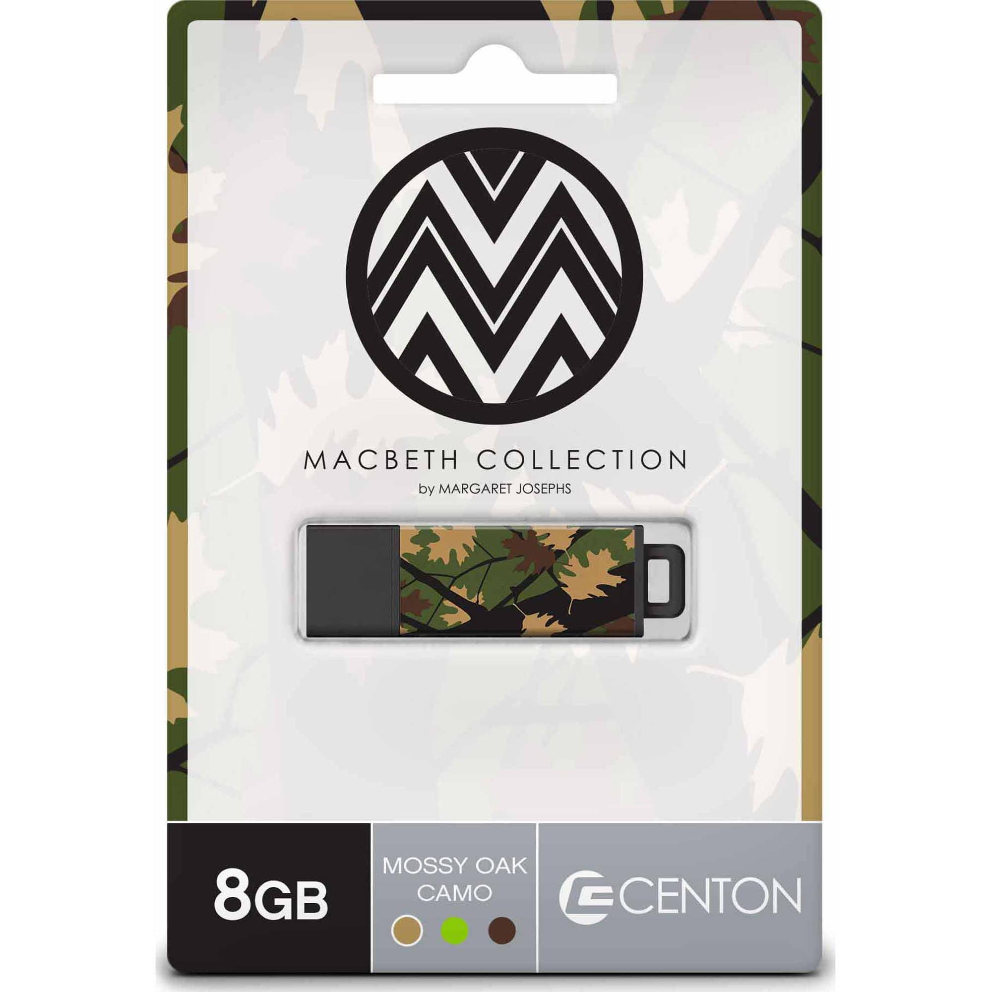Centon 8GB PRO2 Macbeth USB Flash Drive, Mossy Oak Camo