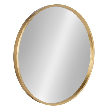 Kate and Laurel Travis Round Accent Wall Mirror ()