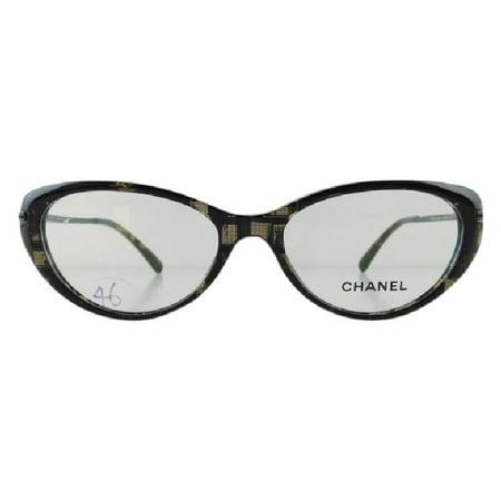 Gently Used Chanel 3296-B 1488 Black Plastic Eyeglasses (Chanel Eyeglasses Women)