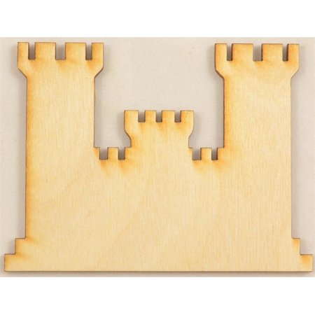 Engineers Castle Wood Cutout / Package of - Castle Cutout