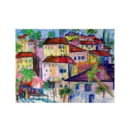 Betsy Drake TP556 24 x 30 in. Fun City I Outdoor Wall Hanging - image 1 de 1