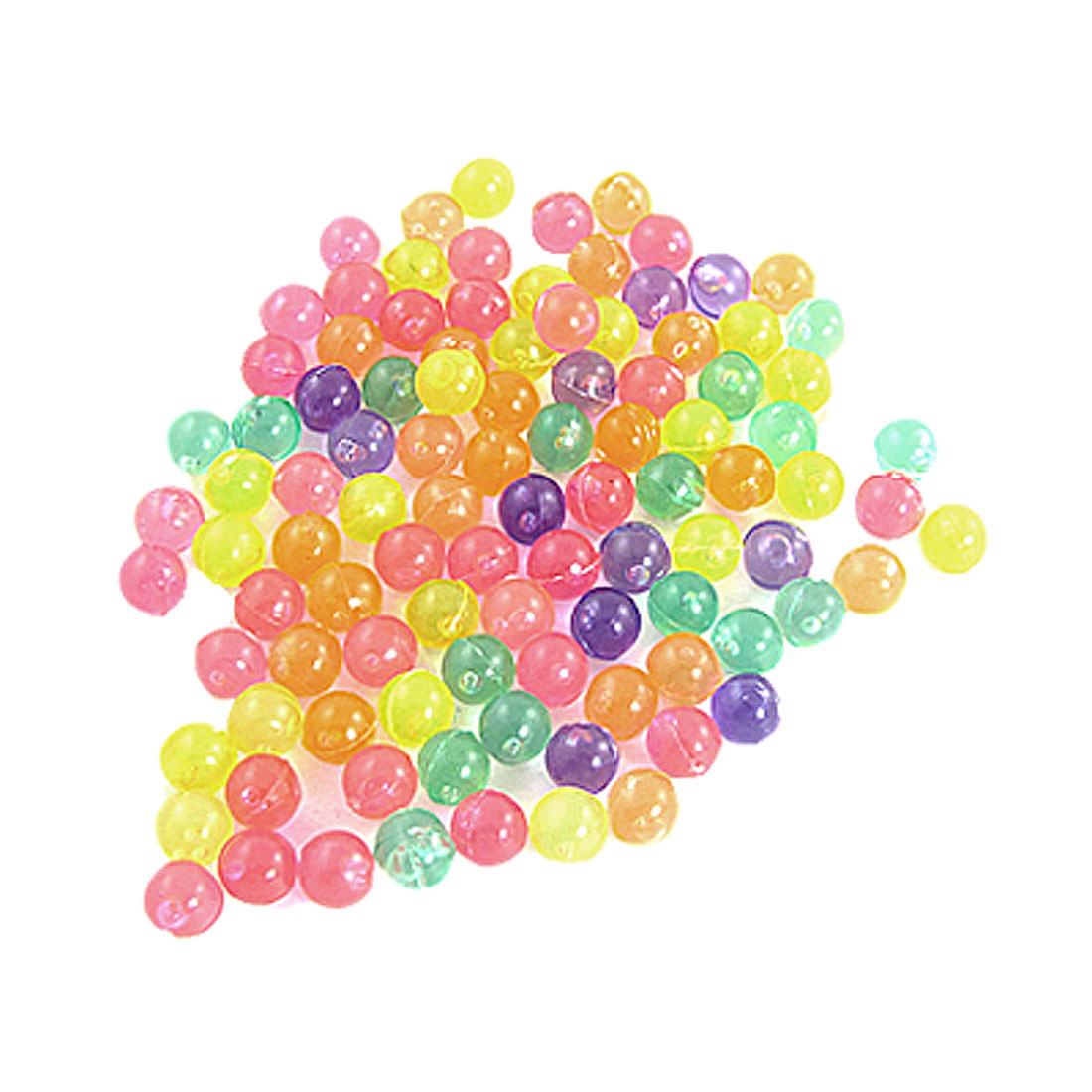 "Aquarium en plastique coloré 0, 3"" de diamètre 99 pcs Perles"