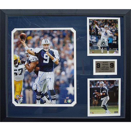 size 40 bcc67 1cbac NFL Tony Romo Autographed Framed 16x20 Picture in a 30x34 Frame