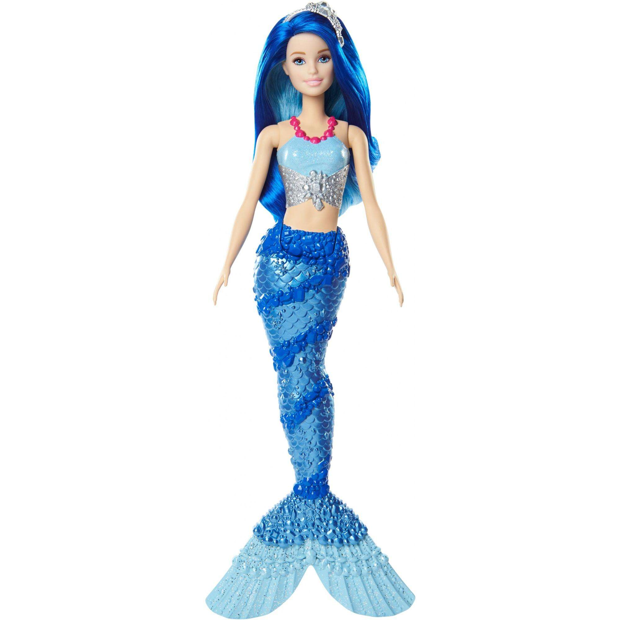 Barbie Dreamtopia Mermaid Doll, Blue by Mattel