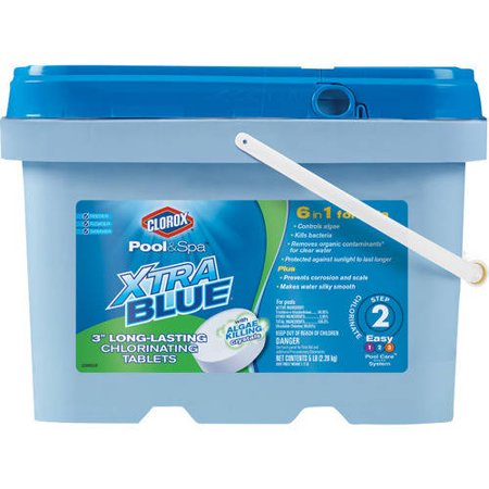 Clorox Pool And Spa Xtra Blue 3 Quot Long Lasting Chlorinating