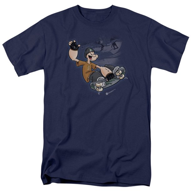 Popeye Sk8 Mens Short Sleeve Shirt